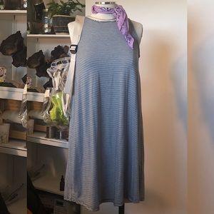 ABERCROMBIE & FITCH | Striped Swing Tank Dress